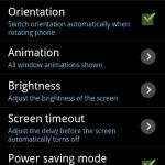 Galaxy SのTV出力機能