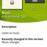 デベロッパー版のAndroidマーケットに音楽アプリが登場? #androidjp