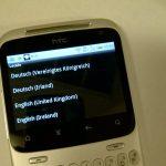 HTC ChaChaにまずいれたアプリ