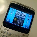 HTC ChaChaのホーム画面