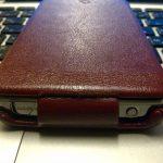 [Xperia_Report]CAPDASE Capparel Protective Caseをしばらく使っています