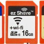 無線ON / OFFスイッチ付き 無線LAN SD カード ezShare 国内発表、2月下旬発売