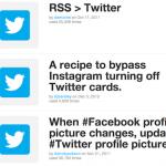 [News]IFTTTがTwitterをトリガにした動作を一部復活
