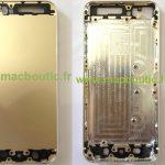 [News]アップル、次の iPhone 5S ではゴールド本体色も用意?「流出パーツ写真」が出まわる