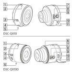 [News]ソニー『レンズカメラ』QX10・QX100 マニュアル流出? 三脚穴も搭載