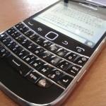 NEXUS 7とBBM+BlackBerry Bold 9900で携帯キーボードは必要なくなった